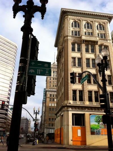 Downtown Oakland vertical
