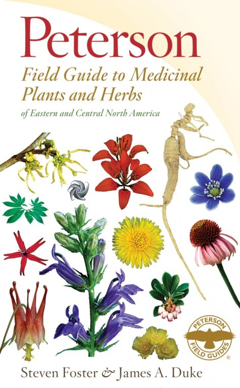 The all new third edition of a Peterson Field Guide to Medicinal Plants and Herbs: eastern and Central North America.