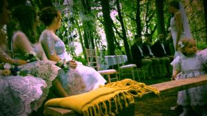 Boho Wedding Ceremony, Leeds