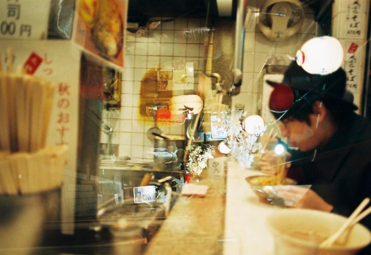 35mm Analogue Photo taken at Omoide Yokocho Tokyo