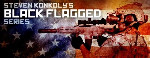 1160 Steve Konkoly BLACK FLAGGED banner