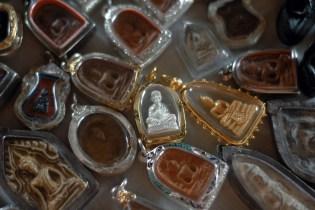 Buddhist Amulets. Chiang Mai Thailand