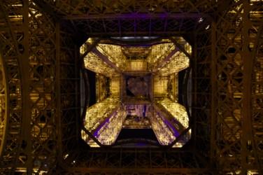 Close ups of Eiffel Tower