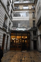 I ate at the legendary Le Bouillon Chartier which is a traditional French restaurant that's over a hundred years old.