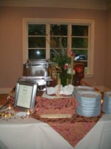Wedding Dinner Buffet
