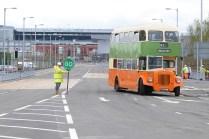 © Ian WatsonNew road opening,Parkhead.
