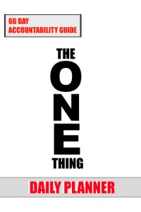 the one thing book daily planner