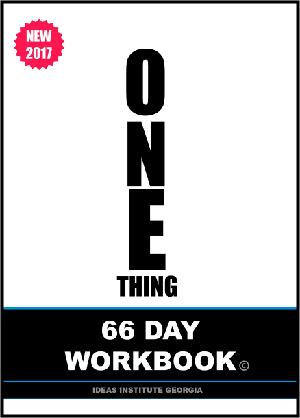 One Thing 66 Day Workbook