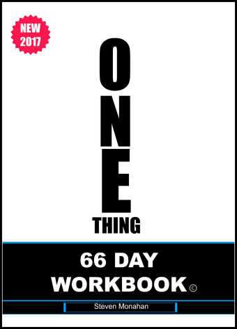 THE ONE THING 66 DAY WORKBOOK CHAPTER 2