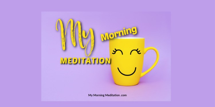 My Morning Meditation What Things Are in My Control