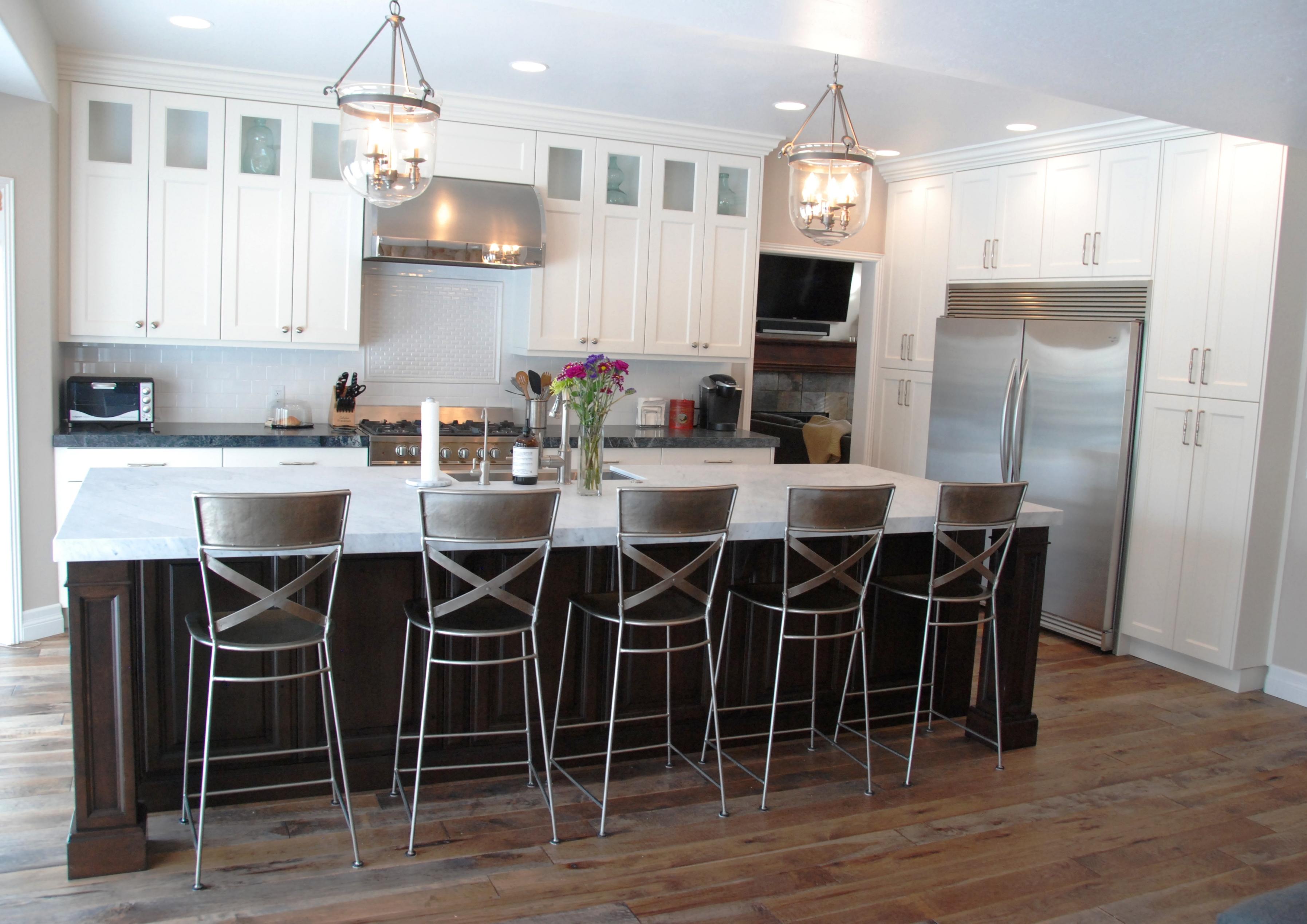 cherry wood kitchen island repurposed cabinets white home design and decor