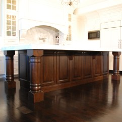 Cherry Wood Kitchen Island Inexpensive Flooring Options For White Modern Home Design And