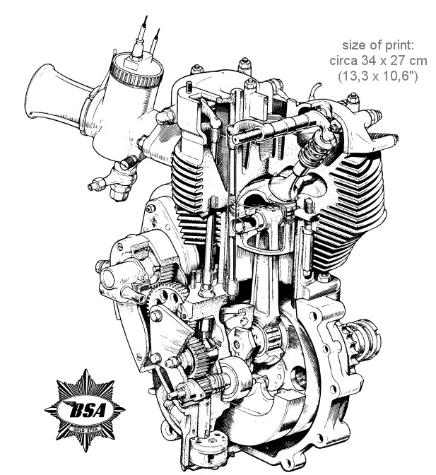 1000+ images about bsa engine on Pinterest