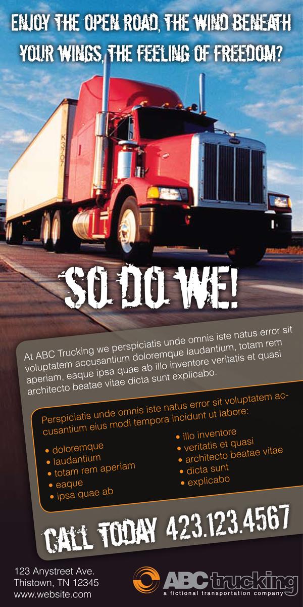 Logistics Ad Specs Concepts  Steven Ratajczyk