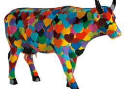 Heartstanding Cow by Steven Ray Miller