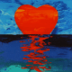 Summer Solstice Heartrise limited edition giclee on canvas by Steven Ray Miller Durham NC artist