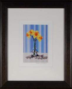 Daffodils Framed Mini Print