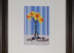 Daffodils Framed Mini Print