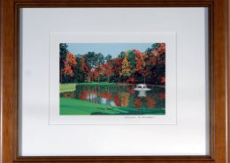 Duke University Golf Course Framed Mini Print