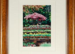 Sarah P. Duke Gardens Framed Mini Print Print