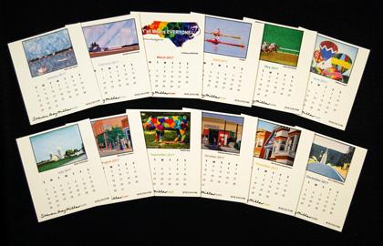 2017 Desk Calendar refill