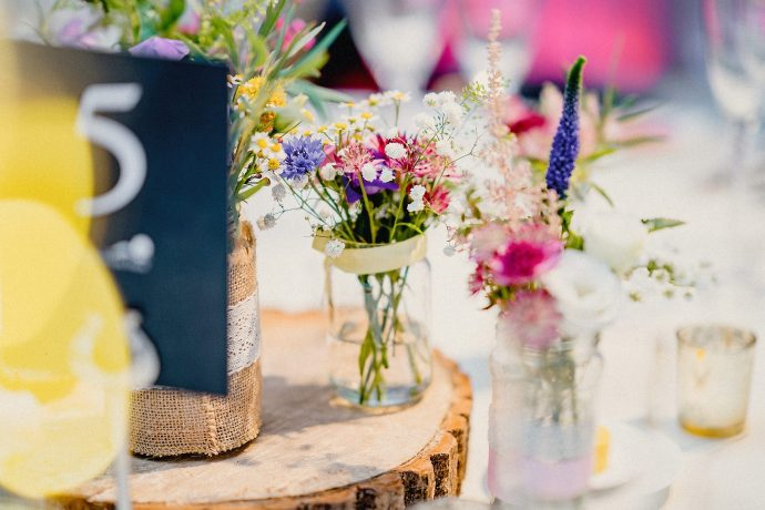 heaton house farm wedding photography, flower details