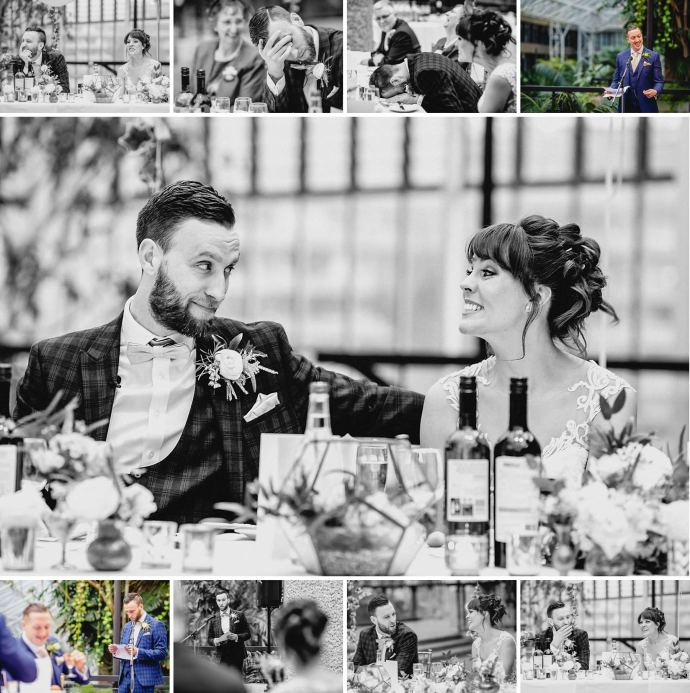 speeches, toasts, table decorations