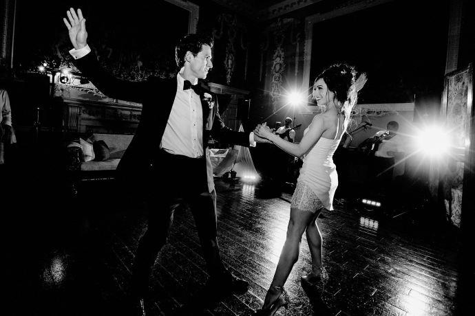 dance floor, keilidh band