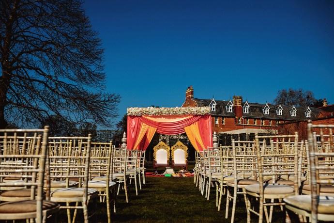 mandap for hindu wedding