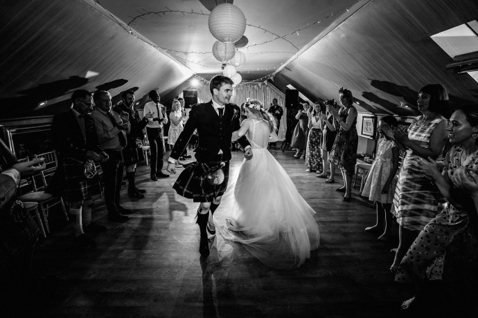 first dance at kilrie granary