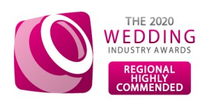 the wedding industry awards, regional higly commended