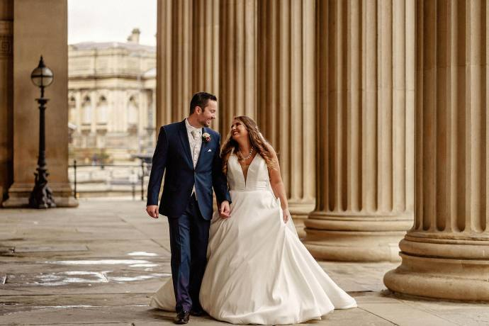 st. georges hall wedding photographer, merseyside UK