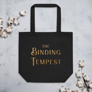 The Binding Tempest – Black Eco Tote Bag