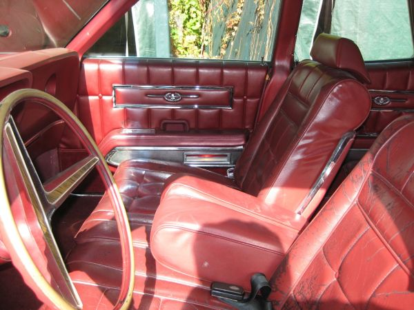 1967 Ford Thunderbird Interior