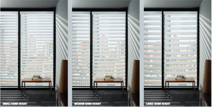 Hunter Douglas Banded Shades