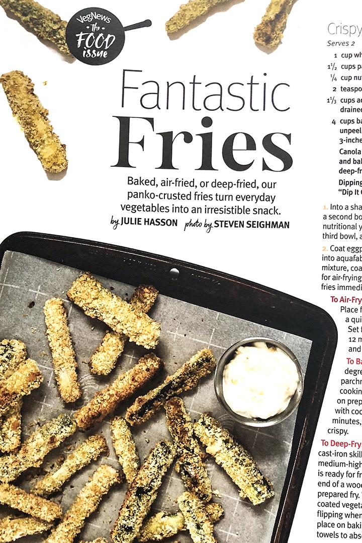 VegNews Zucchini Fries