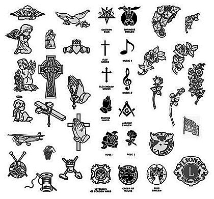 Emblems & Carvings for monuments — Stevenson & Sons