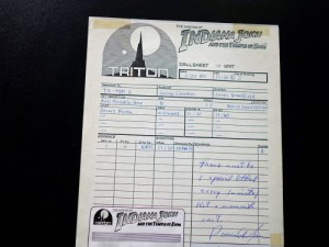 Call-Sgeet signiert von Dennis Muren