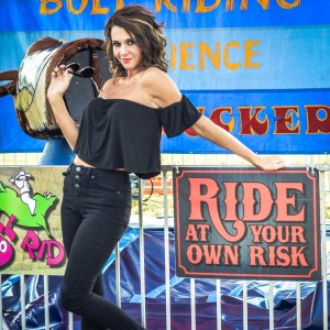 Grease themed carnival photoshoot