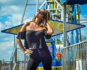 Savannah's Grease-themed Carnival Photoshoot