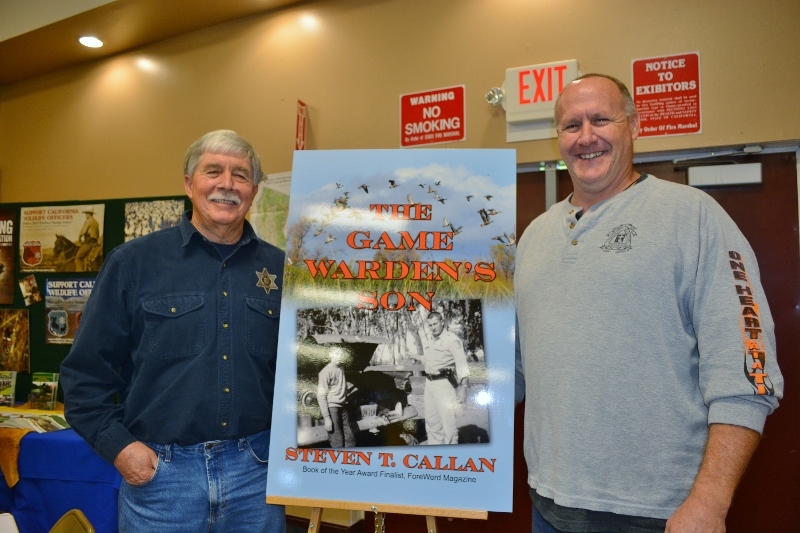 Author Steven T. Callan and friends at his first book signing on his 2016 book tour