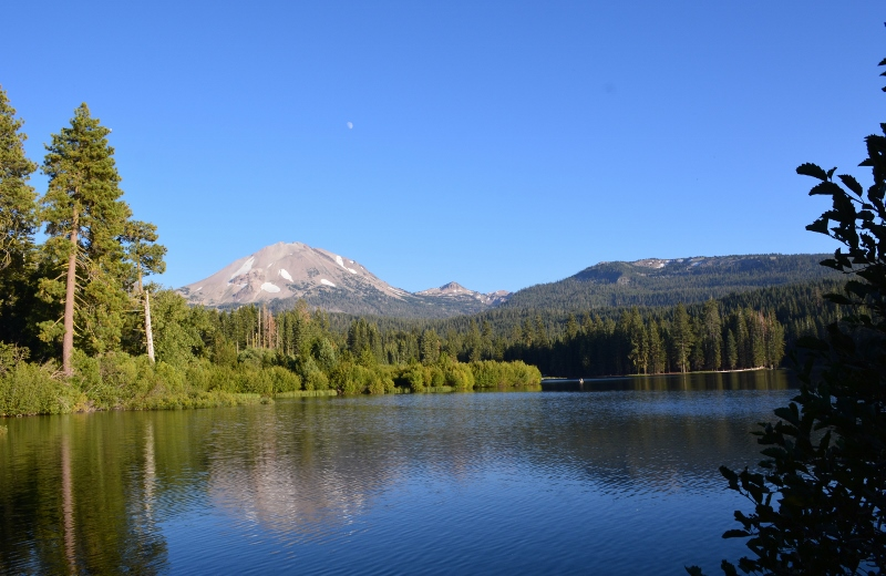 Scenes from a Book Signing: Lassen Volcanic National Park (Author Steven T. Callan)
