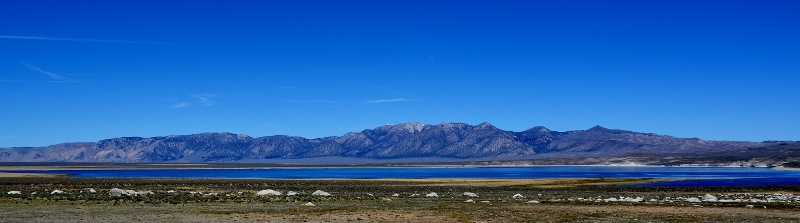 "Crowley Lake, which is featured in ""Crowley Trout Opener,"" a chapter in Badges, Bears, and Eagles--The True-Life Adventures of a California Fish and Game Warden by Steven T. Callan"