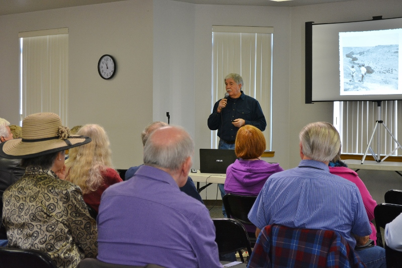 Author Steven T. Callan speaks to Redding Writers Forum about his book The Game Warden's Son.