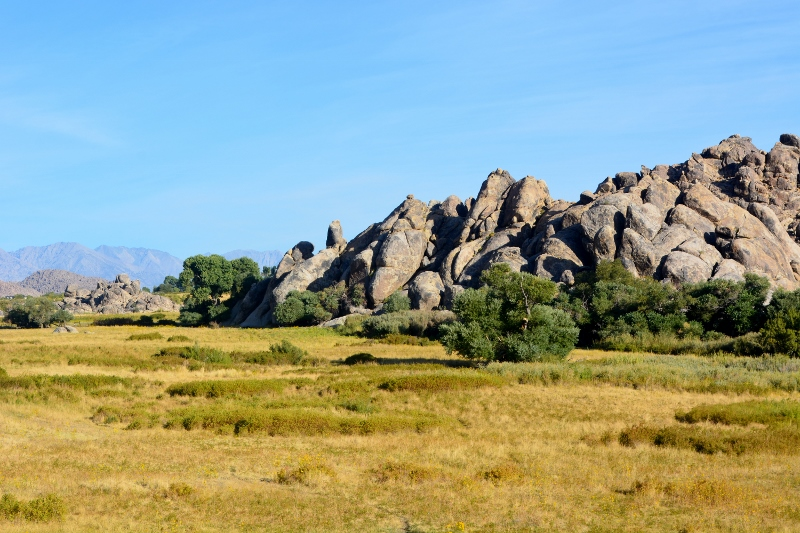 The view from Lubken Canyon Road. Notice the famous Alabama Hills in the background. Photo by Steven T. Callan.