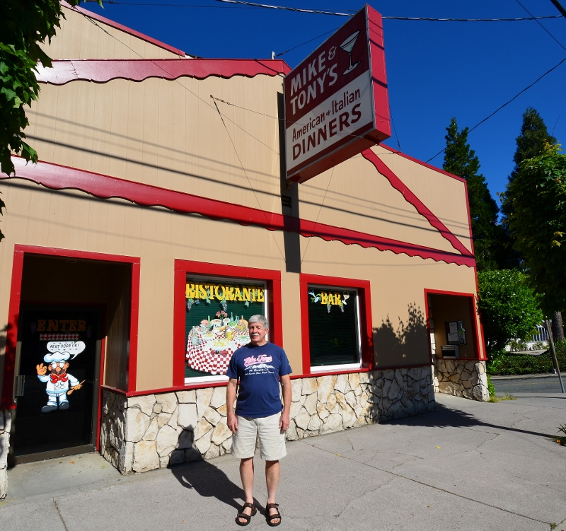 Mike and Tony's restaurant is an institution in Siskiyou County.