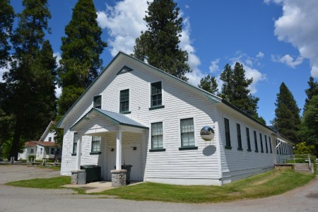 """Mount Shasta Fish Hatchery's """"Building A"""" as it looks today."""