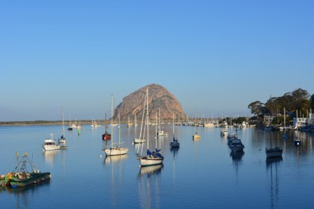 I couldn't resist this classic view of Morro Bay with the famous rock in the background. Photo by author Steven T. Callan.