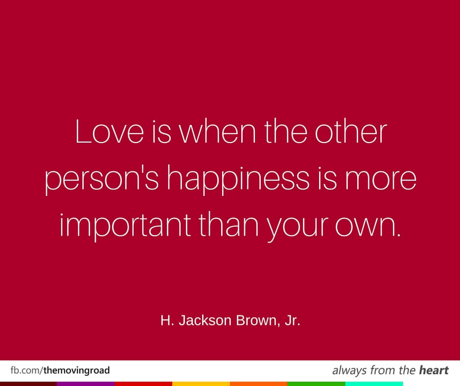love is important Love is quotes from brainyquote, an extensive collection of quotations by famous authors, celebrities, and newsmakers love is when the other person's happiness is more important than your own - h jackson brown, jr.
