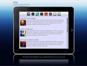 ipad wordpress theme